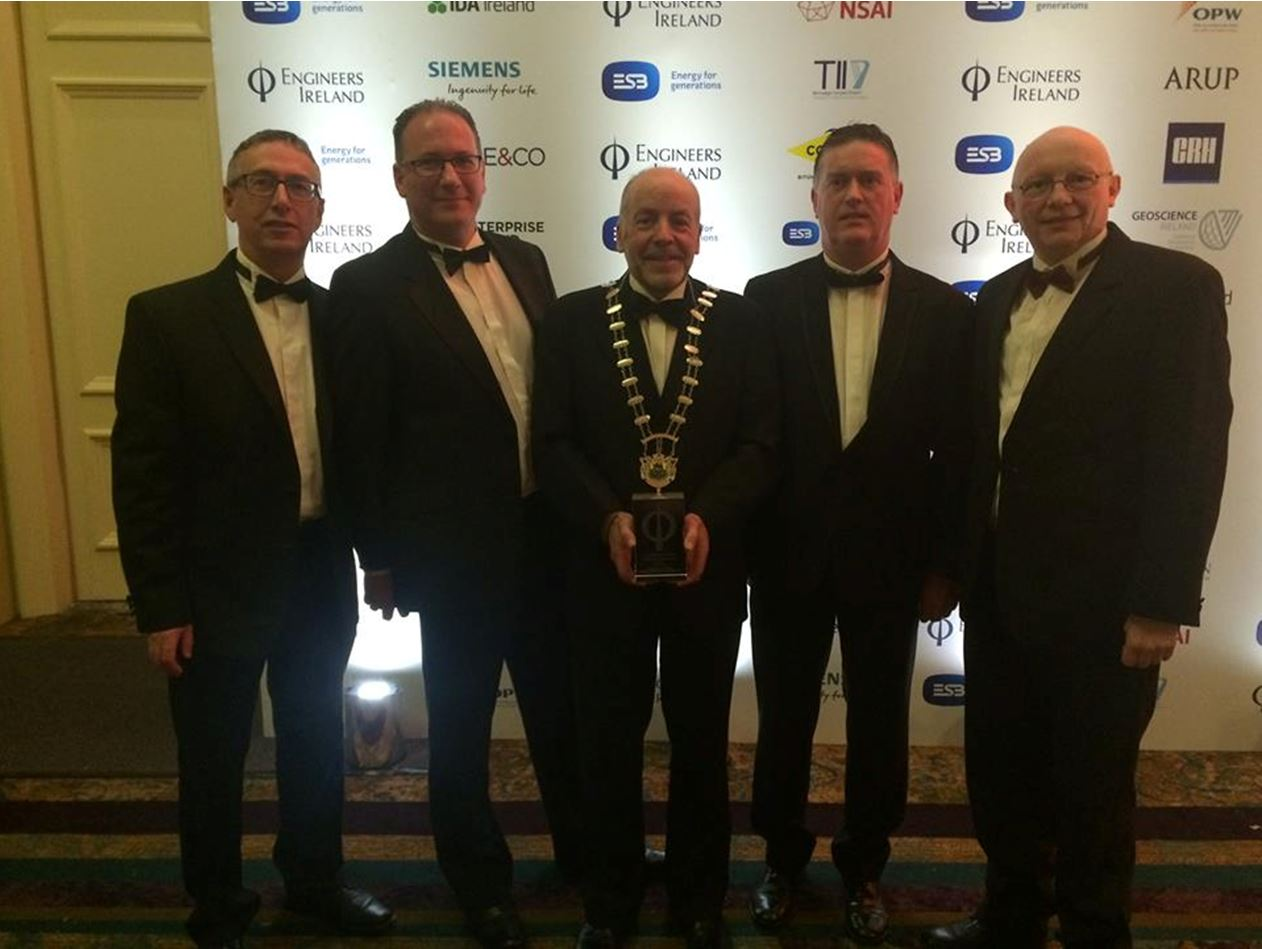 Lough Rinn International Rowing Centre Co. Leitrim wins Engineers Ireland Excellence Award